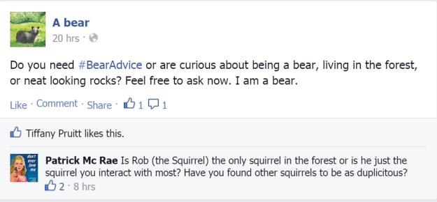 Bear Question