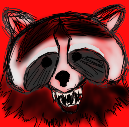 demon raccoon