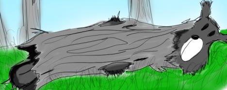Log bear (2)