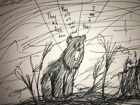 bear-drawing-pen